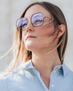 occhiali forme geometriche