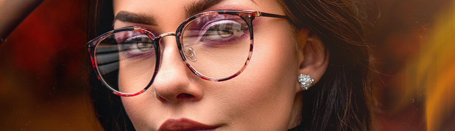 makeup occhiali