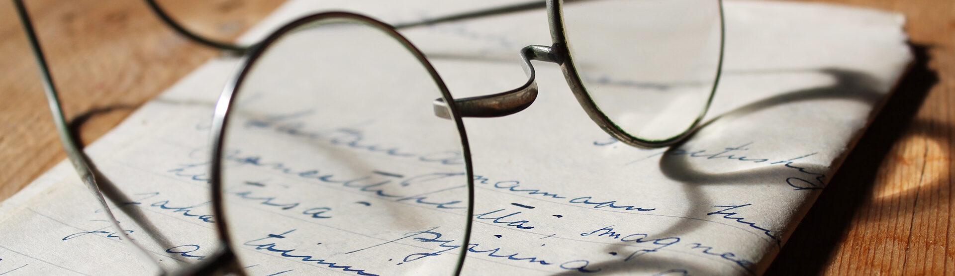 storia degli occhiali